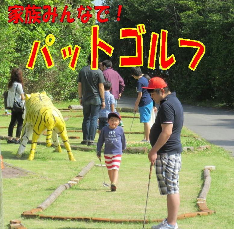 人気のパットゴルフ★